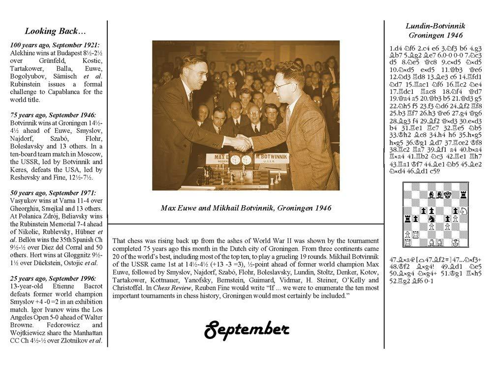 The 2021 International Chess Calendar - Sjakkbutikken